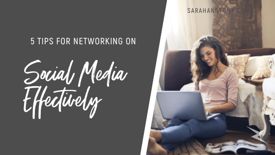 5 Tips for Networking on Social Media Effectively