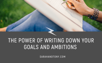The Power of Writing Down your Goals and Ambitions