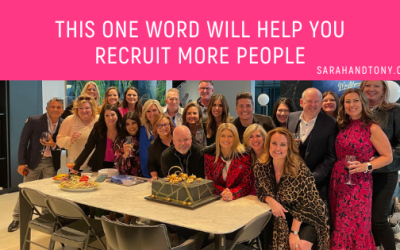 This one word will help you recruit more people
