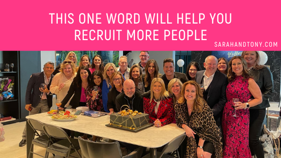 recruit more people into your business