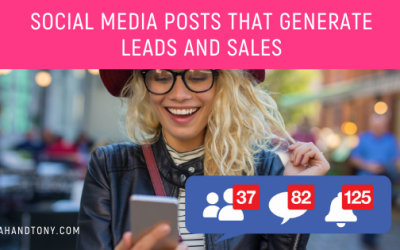 social media posts that generate leads and sales