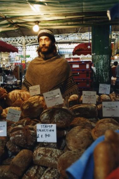 Celtic Baker, Spitalfields market, London