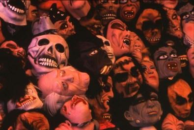 Halloween masks, Oaxaca, Mexico
