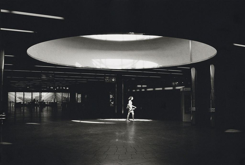 Zizkov Metro Station, Prague.