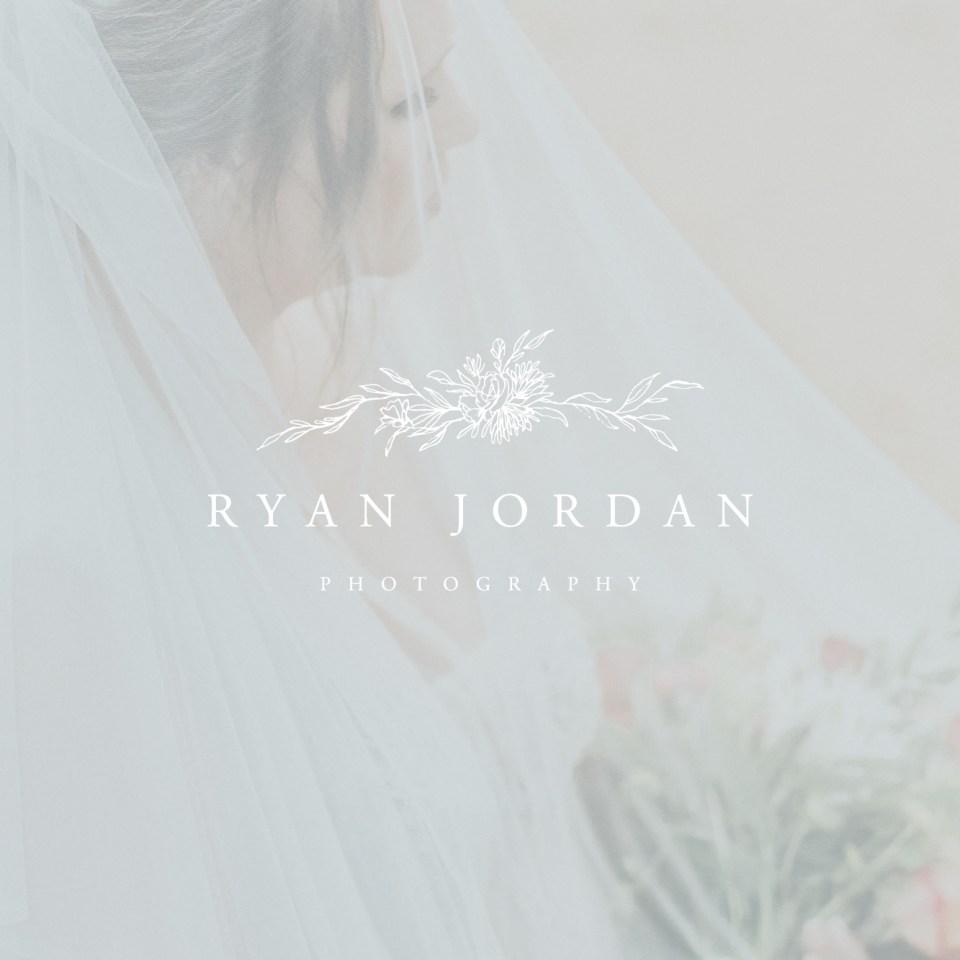 Wedding Photographer Branding // Ryan Jordan by Sarah Ann Design