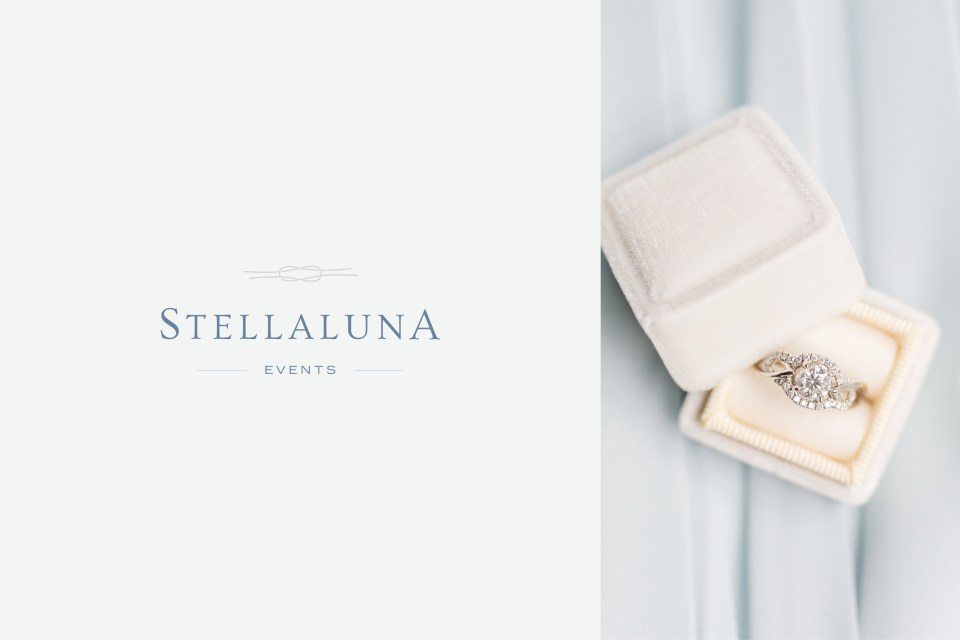 Stellaluna - Wedding Planner Logo Design - Sarah Ann Design