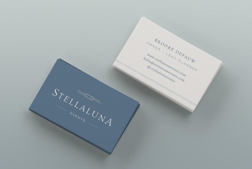 Wedding Planner Brand Design: Stellaluna Events, by Sarah Ann Design