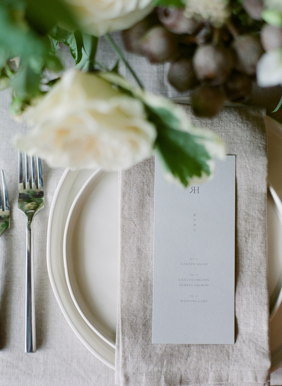 Stationery Design - Sarah Ann Design - Minimalist Bridal Editorial