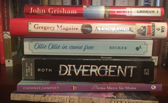 March 2018 bookshelf