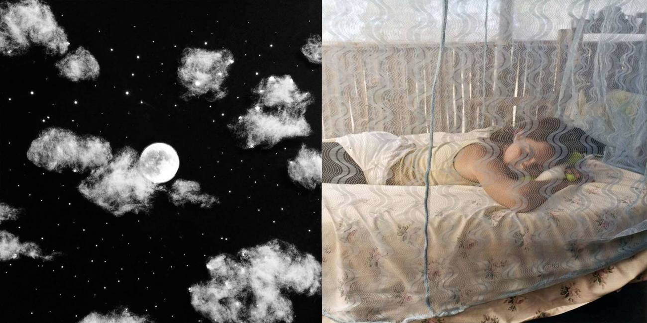 Kia and the Moon - 2005 - 15 x 30 - Chromogenic Print