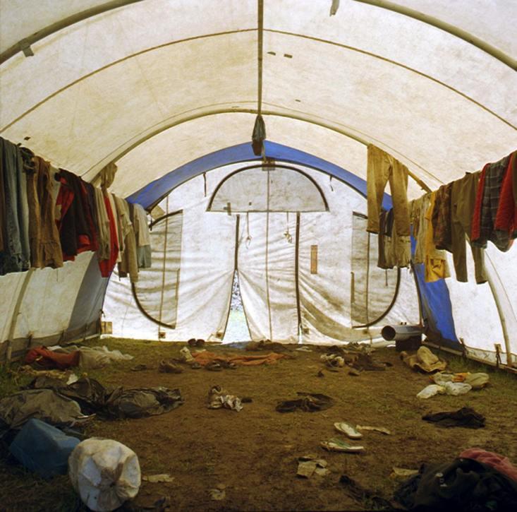 Drying Tent - 2003 - 10 x 10 - Chromogenic Print