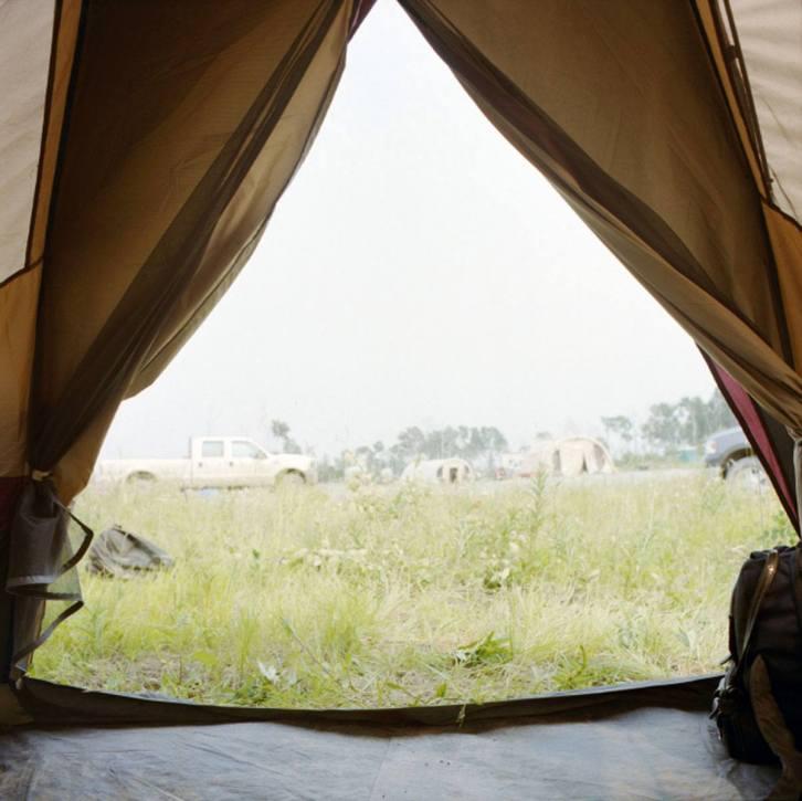Tent Curtains - 2003 - 10 x 10 - Chromogenic Print