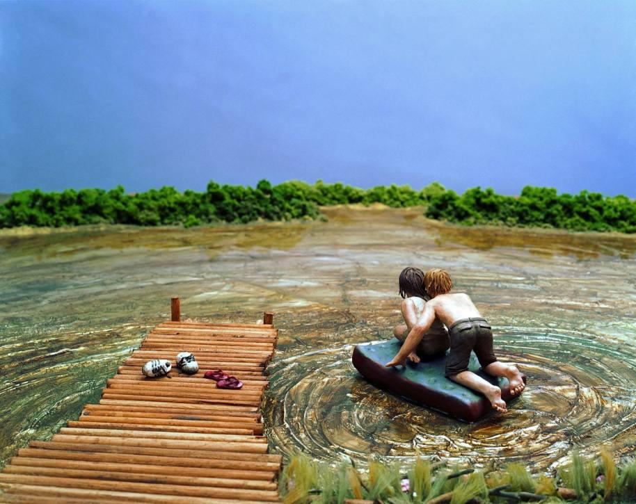 The Raft - 2005 - 20 x 24 - Chromogenic Print