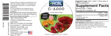 16270 Vitamin C with Rosehips