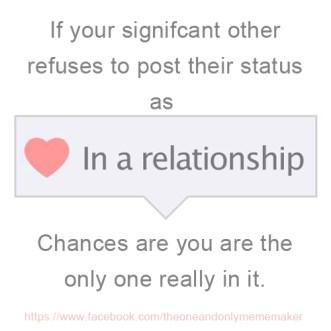 in a relatiosnship