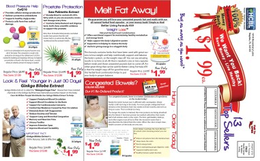 6 page mailer