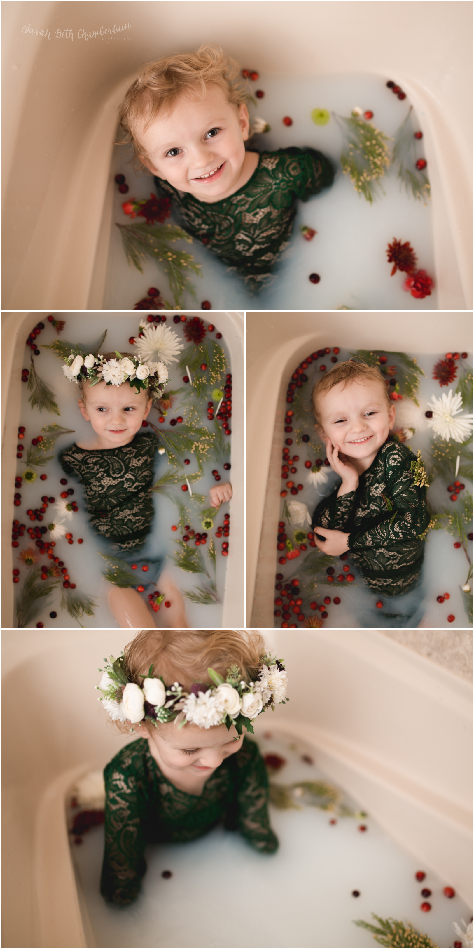 Milk Bath Session North Las Vegas Photographer Child