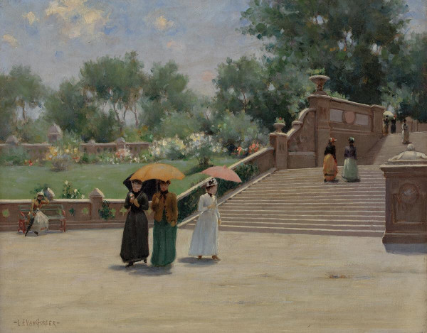 """""""In the Park"""" 1893."""