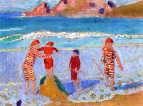 """""""Sand Castle"""". 1909."""