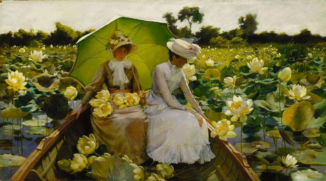 """Lotus Ladies."" 1888."
