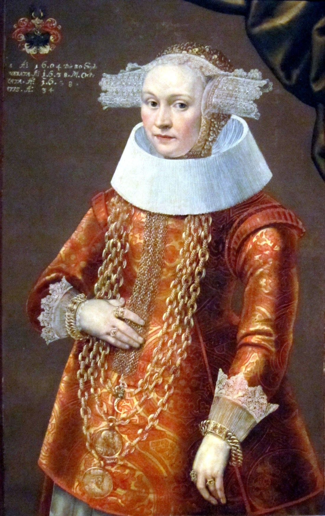 Portrait of a Daughter of Dieterich Bromsen. ca. 1638.