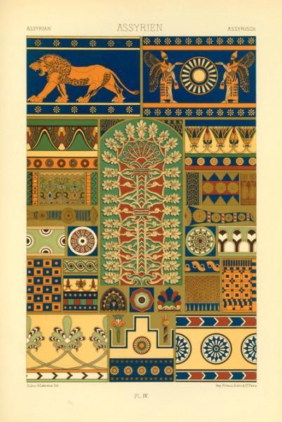 Assyrien. Plate IV. 1869.