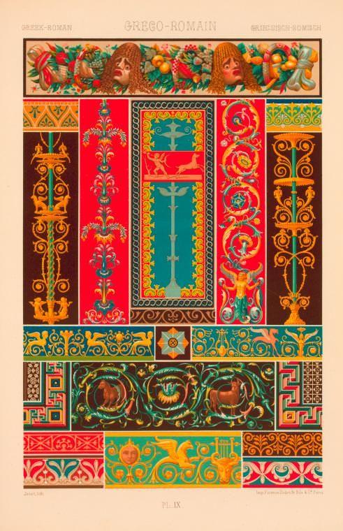 Greco-Roman. Plate IX. 1869.