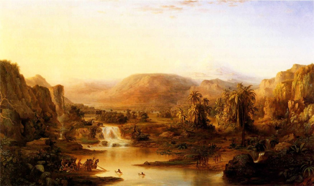 """""""Land of the Lotos Eaters."""" 1861."""