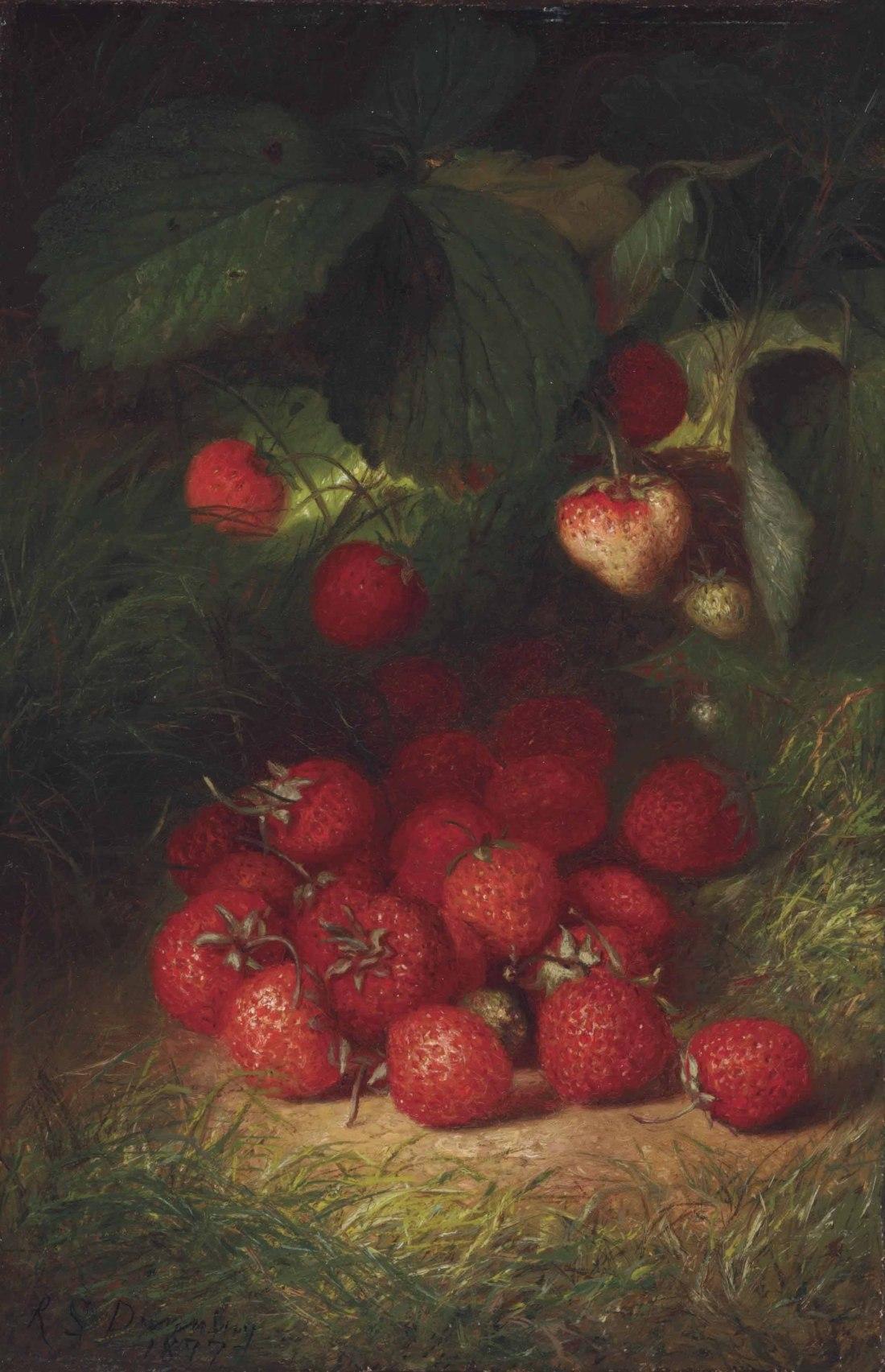 """""""Strawberries."""" 1877."""