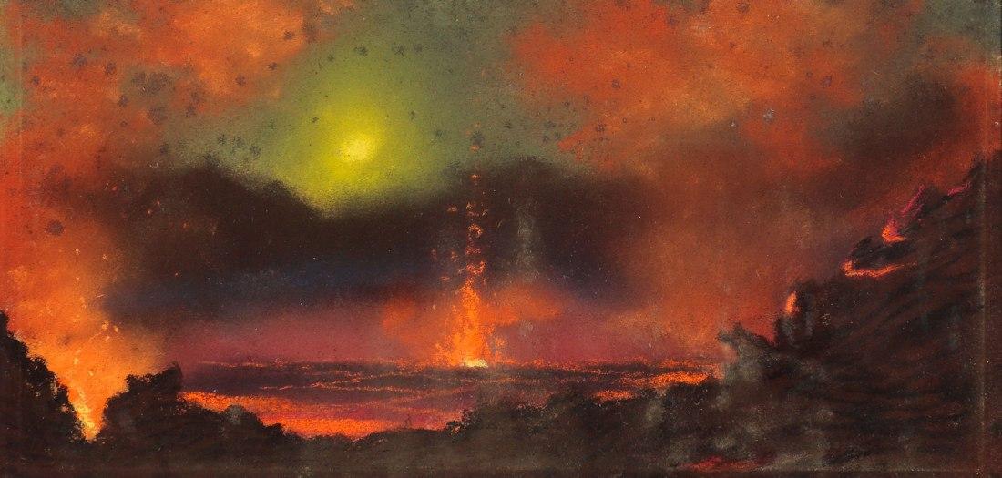 """Le Volcan Kilauea."" 1887"
