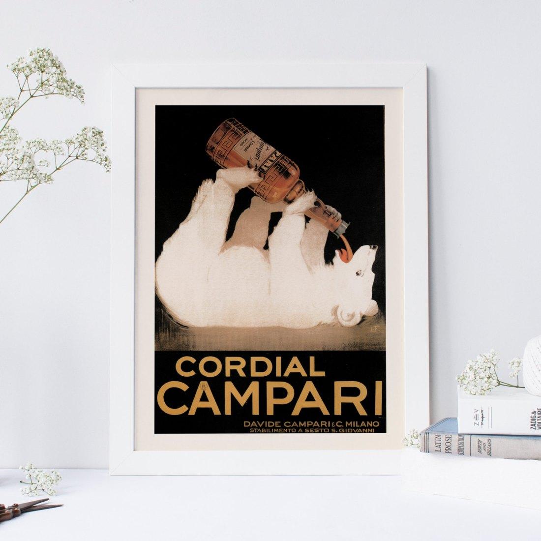 Poster for Cordial Campari. Undated.