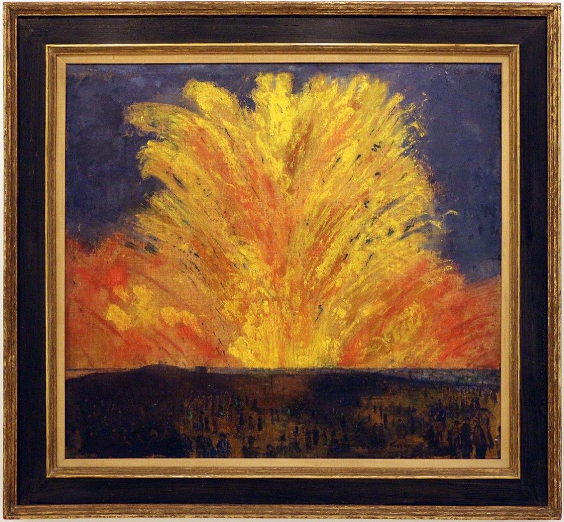 """""""Il Fuoco d'Artificio."""" 1887."""