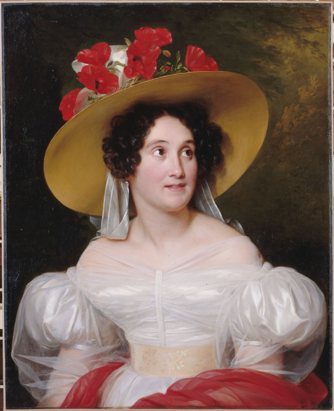 Portrait of Madame Arachequesne. 1831.