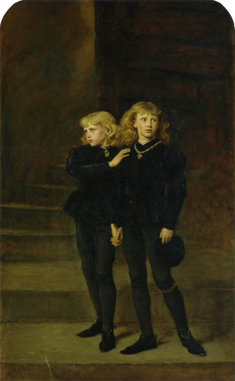 """""""The Princes in the Tower."""" 1878."""