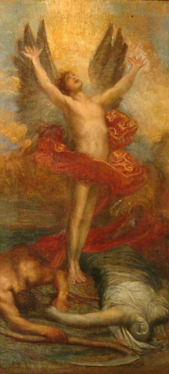 """""""Love Triumphant."""" 1900."""