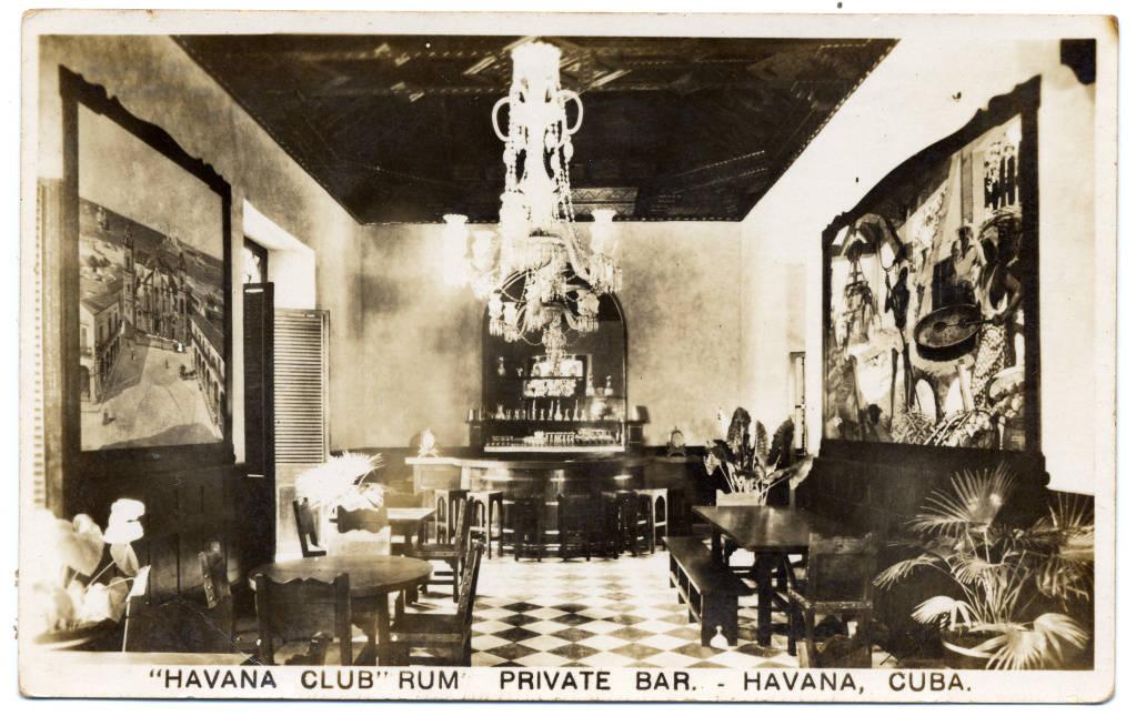 """Havana Club"" Rum Private Bar, Havana."