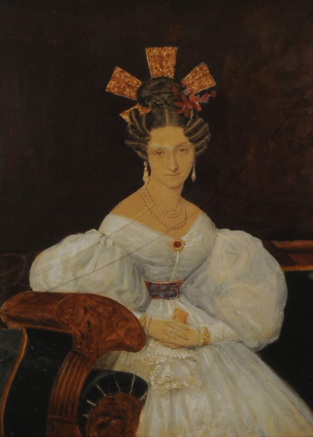 Portrait of Señora Manuela Suárez Lastra de Garmendia. ca. 1830.