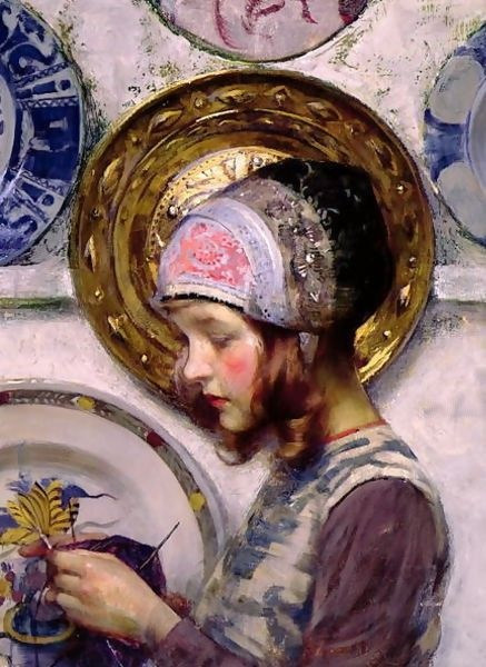 """Purple Stocking."" 1894."