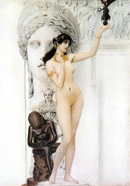 """""""Allegory of Sculpture."""" 1889."""