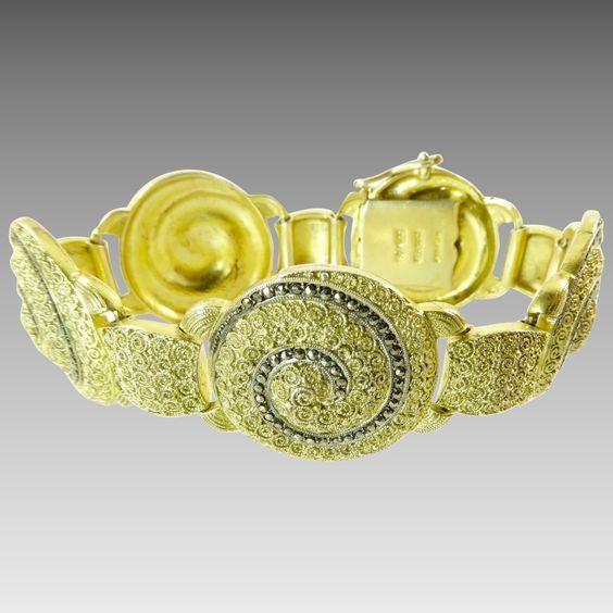 Bracelet. ca. 1930. Art Deco.