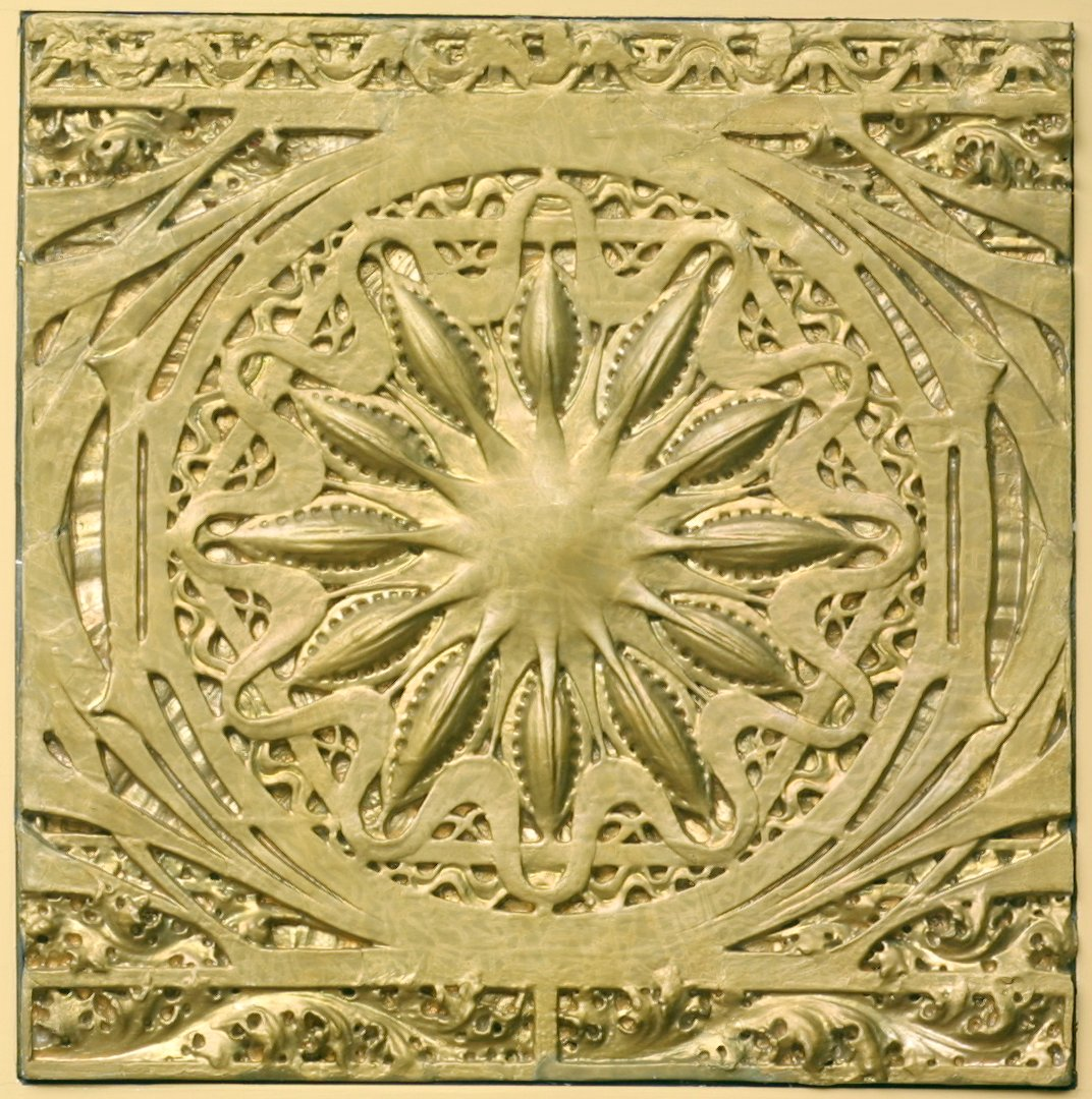 Ornamental relief for the Schiller building. 1891-1892.
