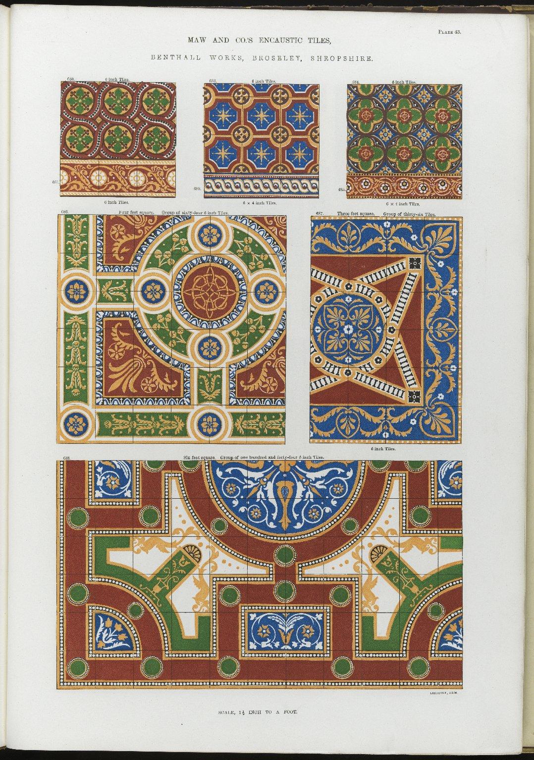 """""""Encaustic Tiles."""""""