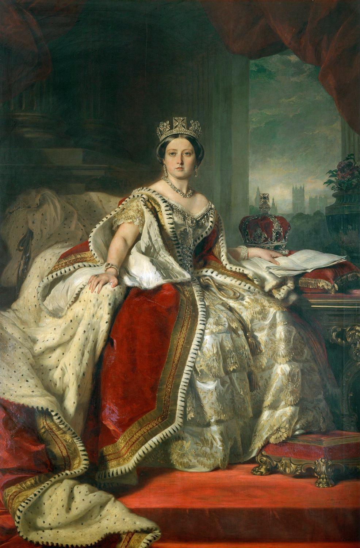 Queen Victoria. 1859.