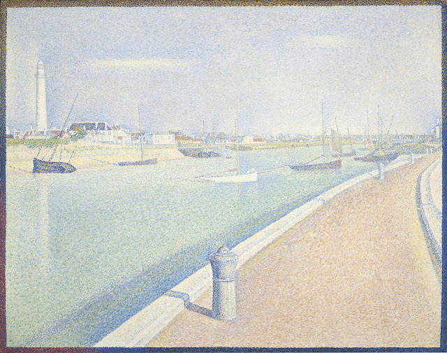 """""""The Channel of Gravelines, Petit Fort Philippe."""" 1890."""
