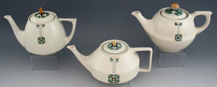 Teapots. ca. 1909.