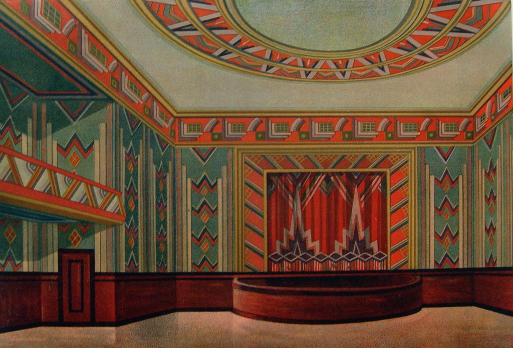 Art Deco Theatre. 1929.