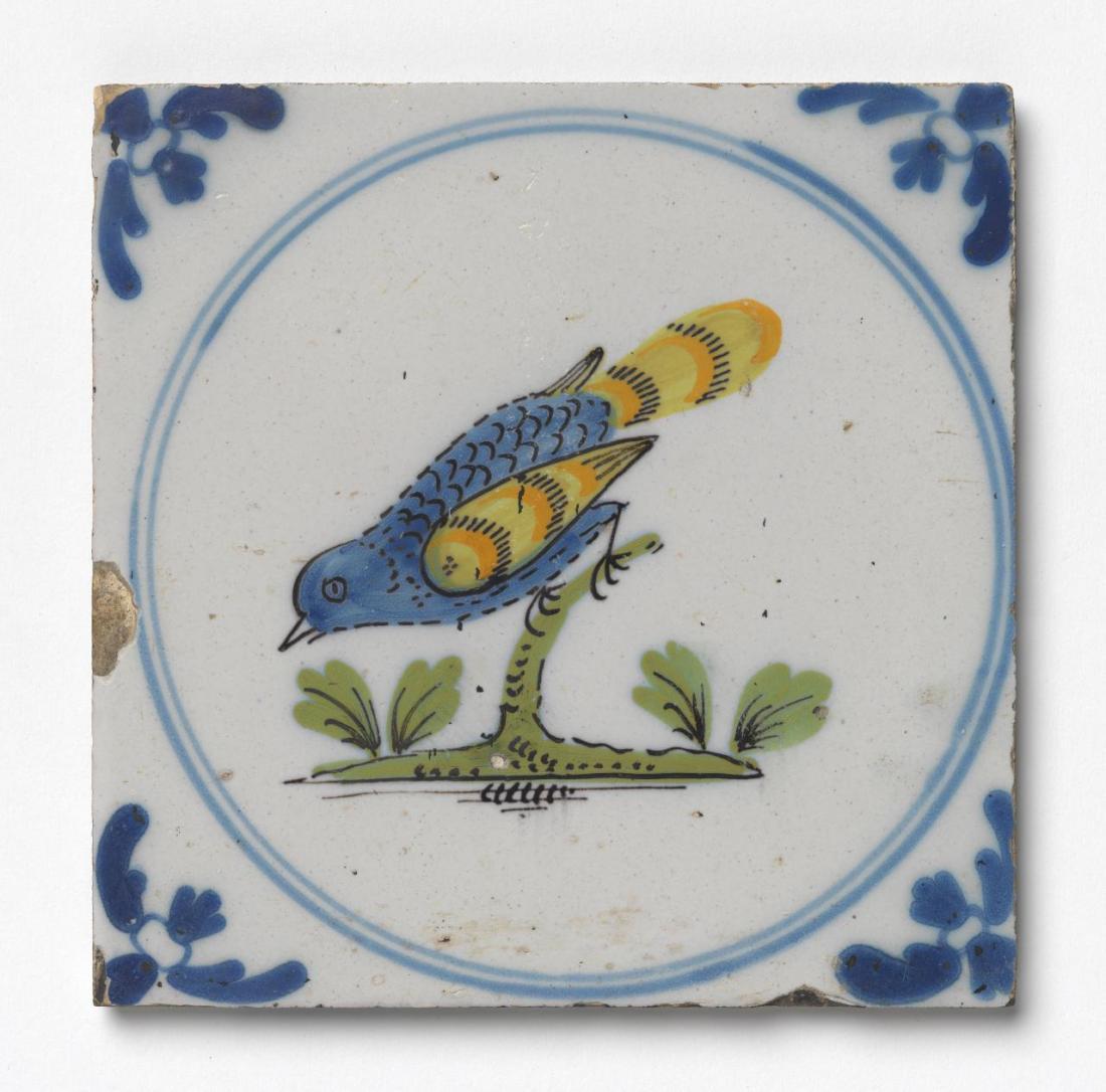 Blue. ca. 1740. Earthenware.