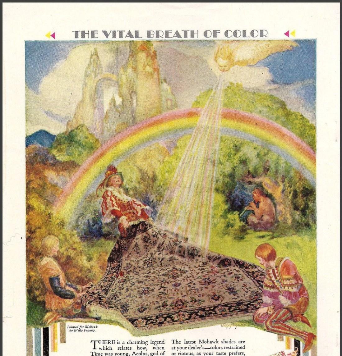 """""""The Vital Breath of Color."""" 1929."""
