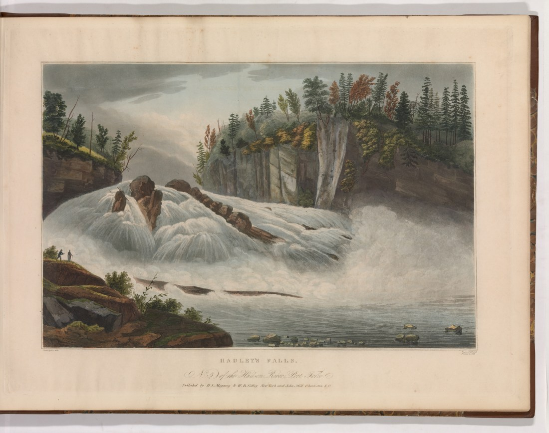 Hadley's Falls. Number 5. 1821-1822.