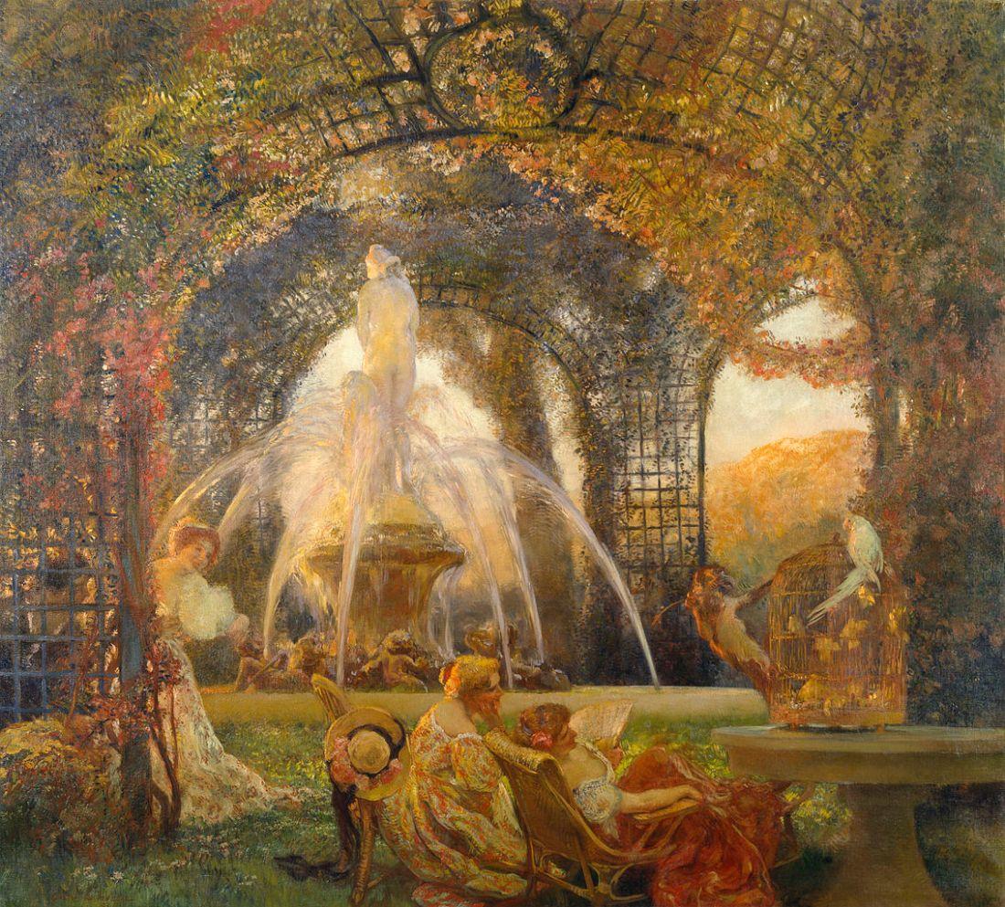 """""""The Arbor."""" ca. 1906."""